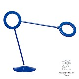 RAMUN Amuleto Grande [AMGO-BBBBF] - Opaque Solid Blue - Lampu Meja